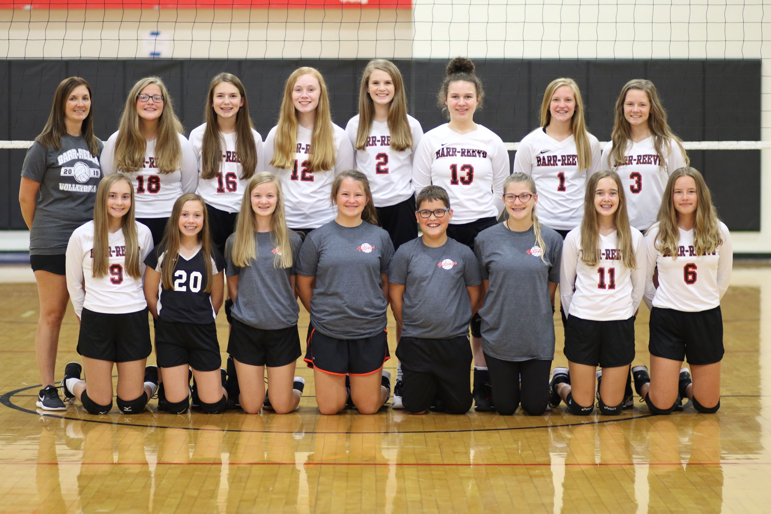 2019-2020 8th Grade Volleyball