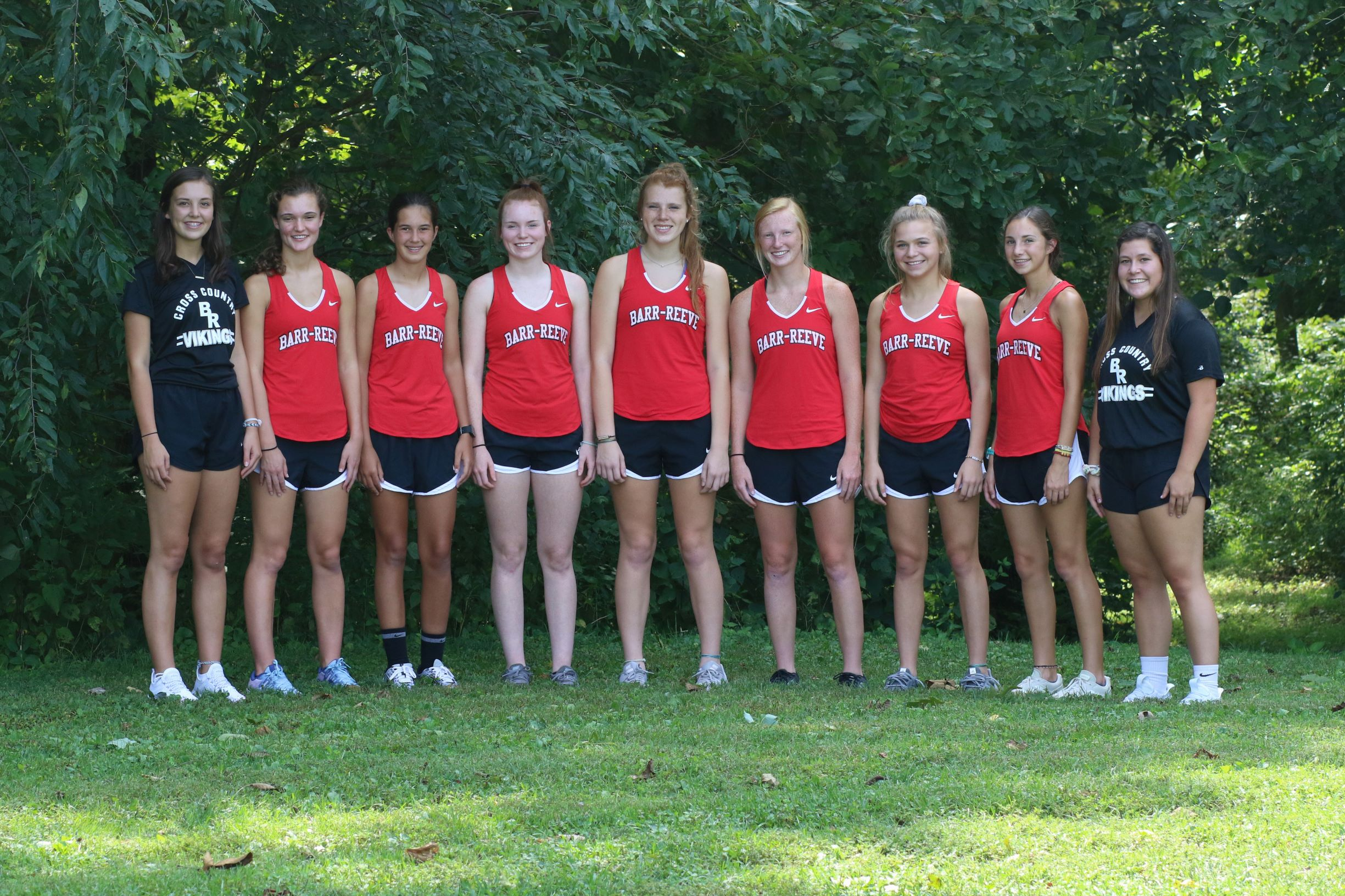 2019-2020 Girls Cross Country Team