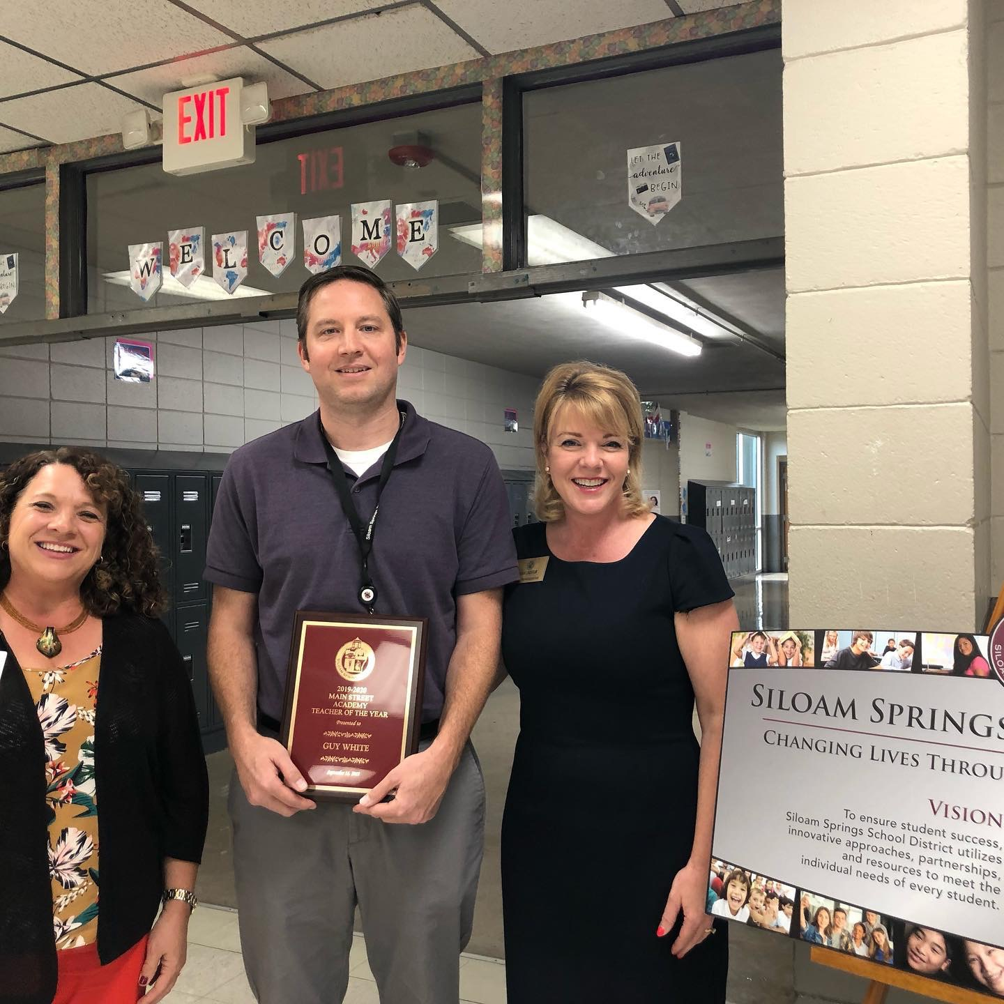 2019 Teacher of the Year Guy White