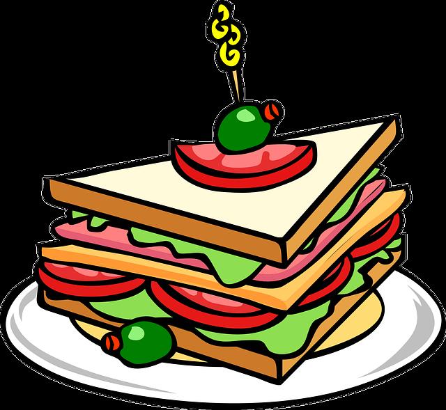 Sandwich Graphic