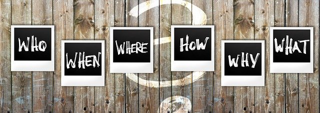 Who, When, Where, How, Why, and What