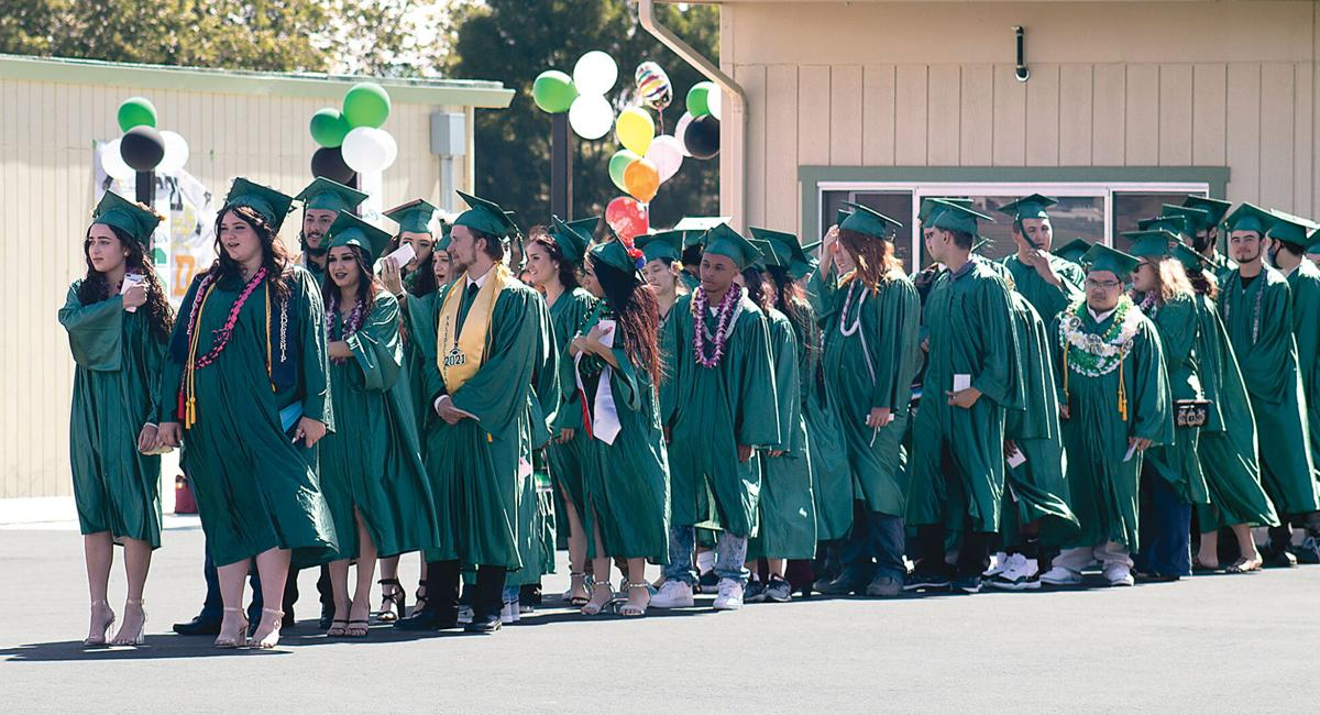Delta Charter High School Graduation