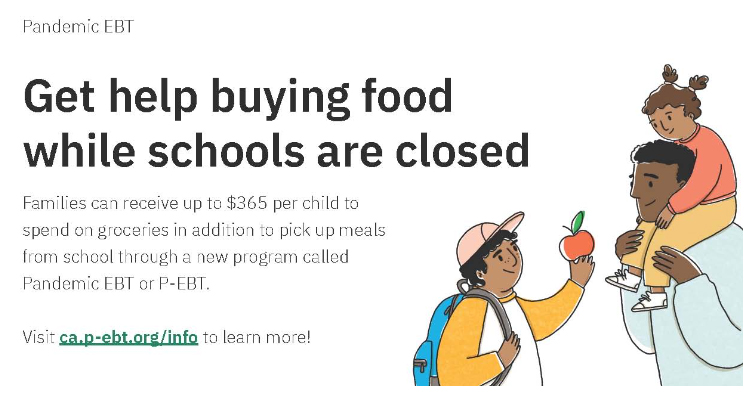Get Help buying food while schools are closed