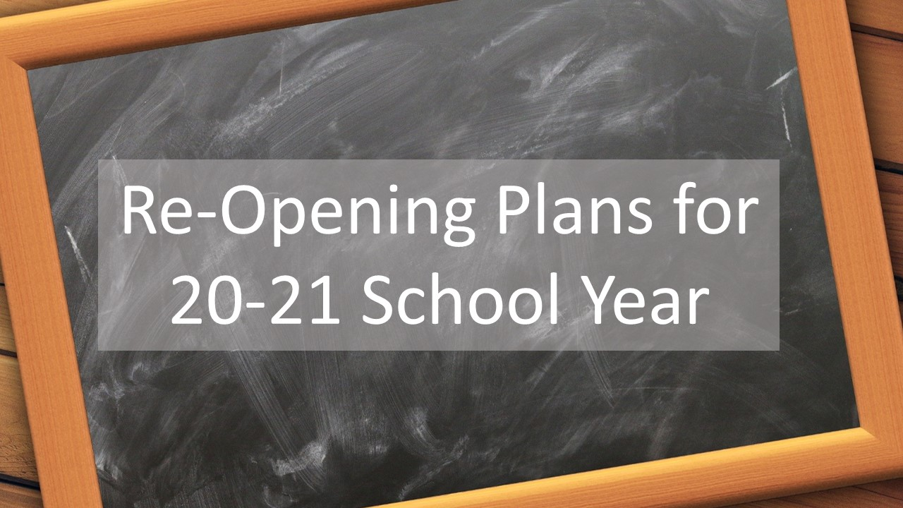 Reopening of Schools Information