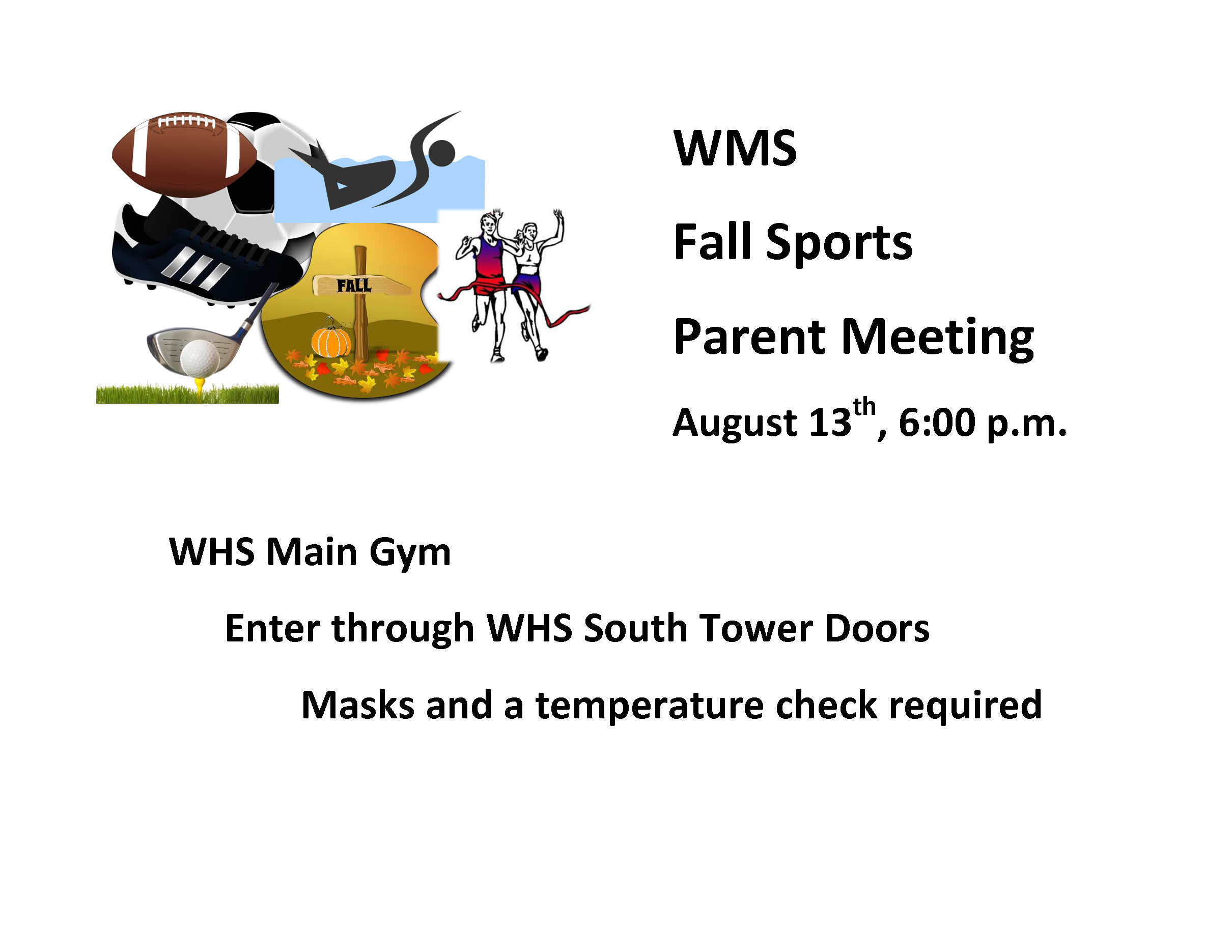 WMS Fall Sports Meeting