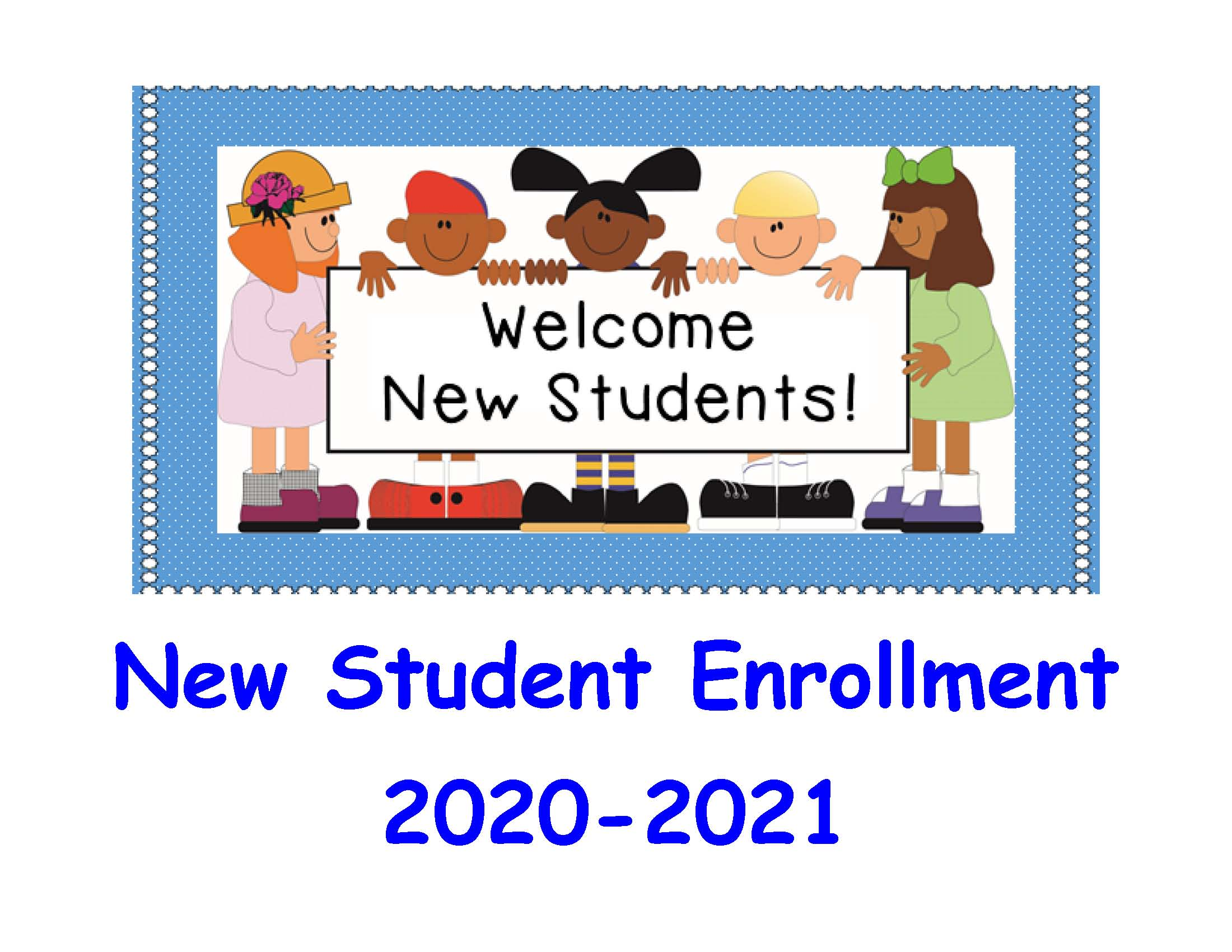 New Students Enroll Now