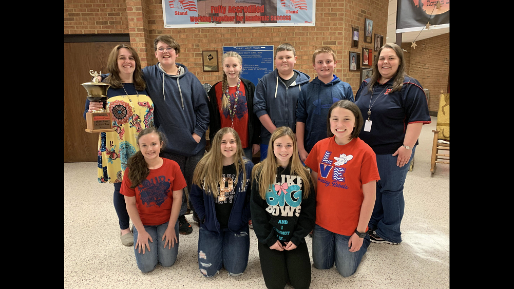 2018-2019                   Division Academic Champs