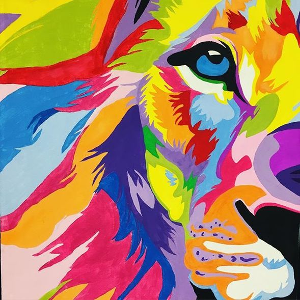 Artwork by Micayla Jenkins, BHS