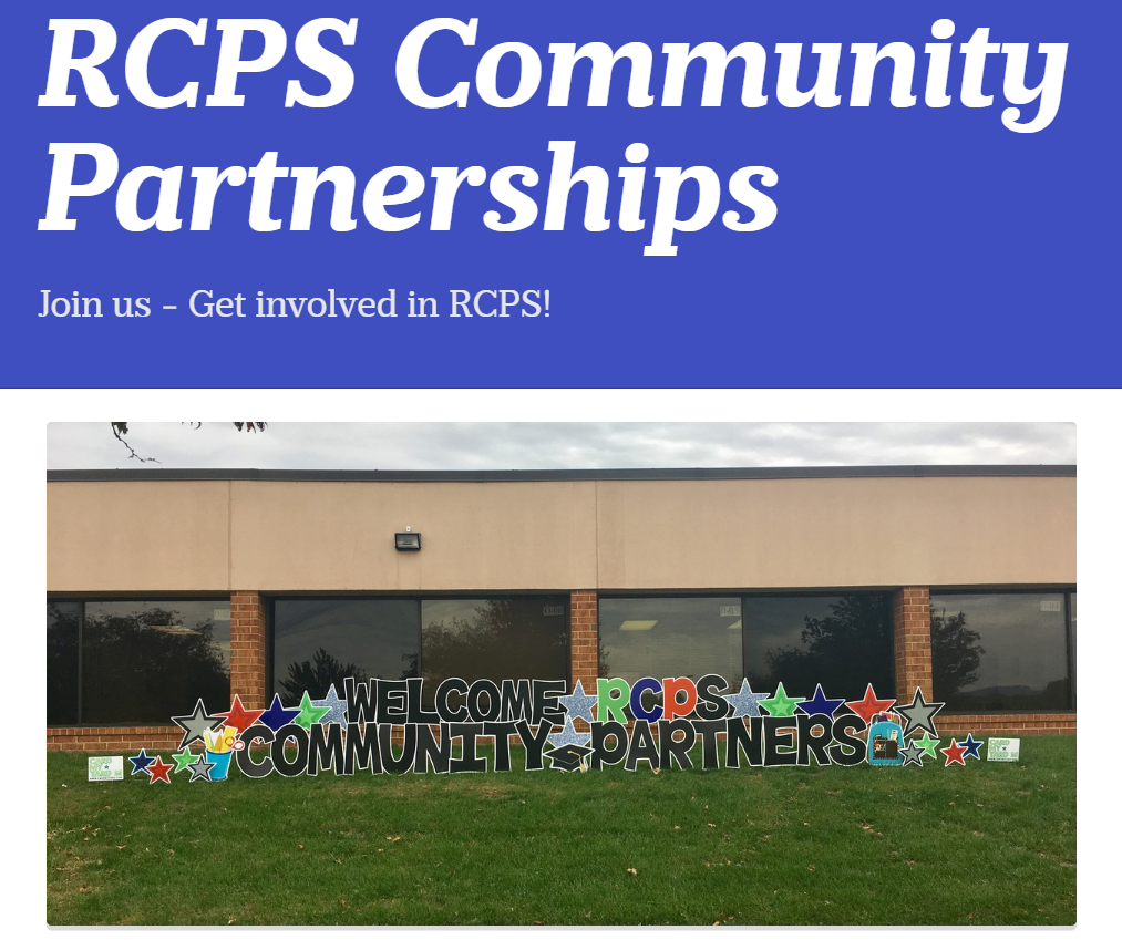 RCPS Community Partnerships