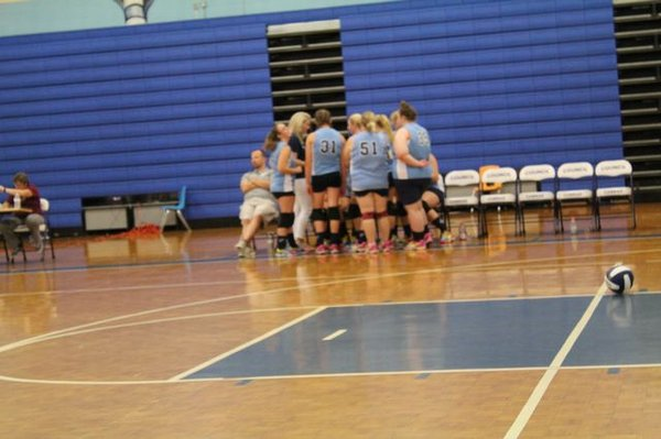Council High School  Varsity Volleyball  2018
