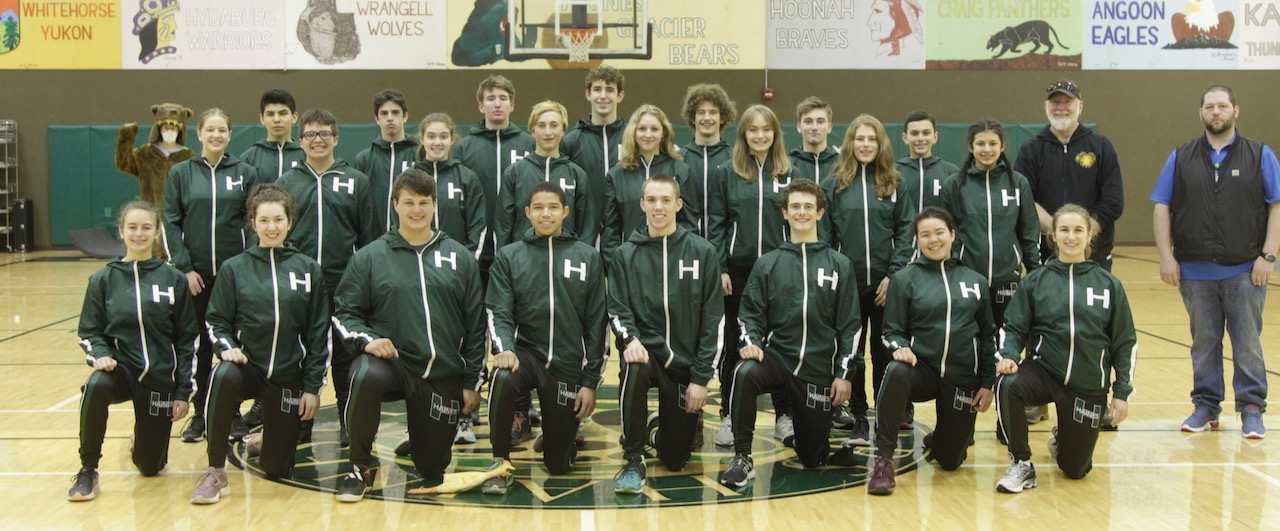 2021 Haines High School Track Team