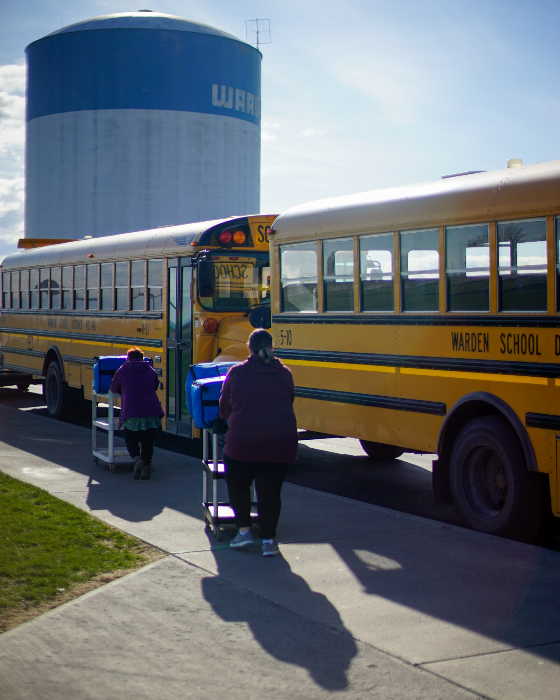 4/3/2020, Additional Meals on bus routes today