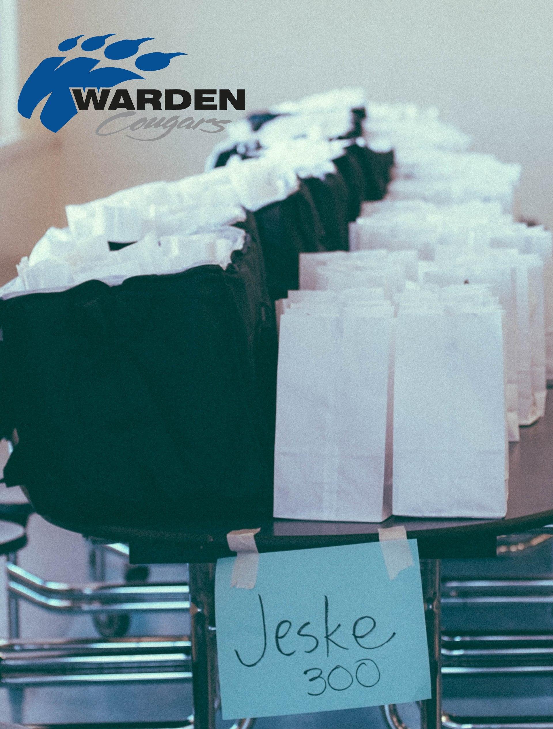 4/1/2020, Meals for Warden Children