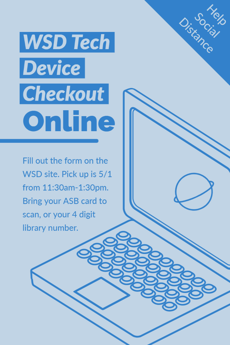WSD Tech Device Checkout for WMS, 5/1