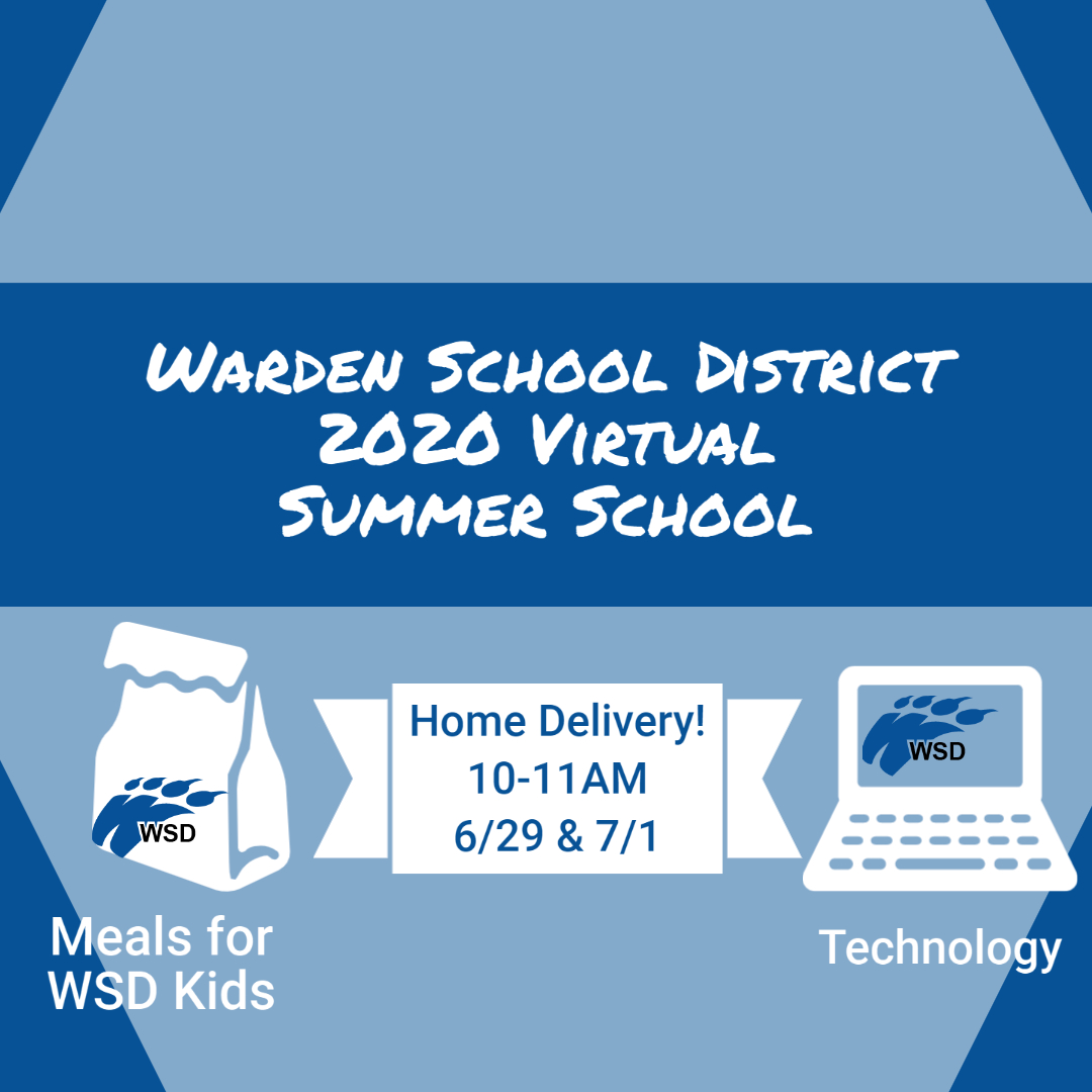 Meals and Technology delivery for WSD Summer School Students