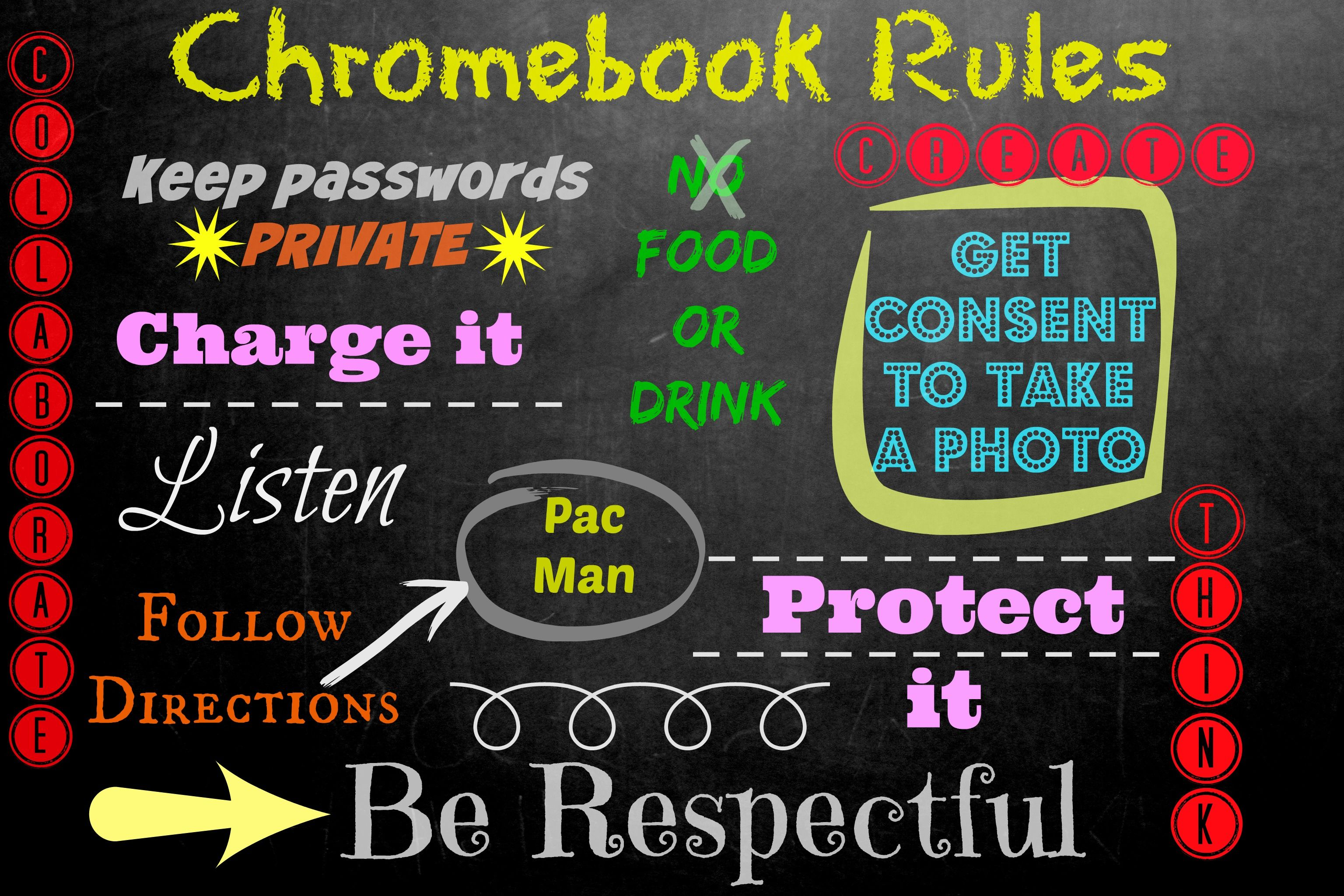Chromebook Rules