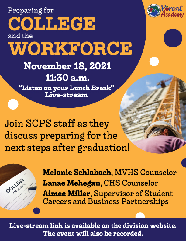 preparing for college and the workforce flyer