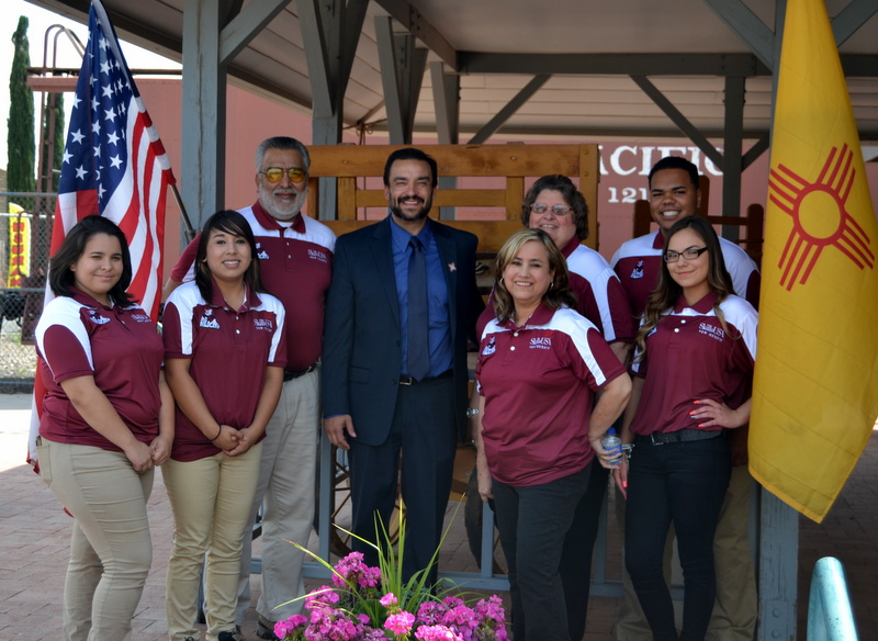 DHS CHAPTER WELCOMES NEW DPS SUPERINTENDENT - DR. ARSENIO ROMERO  JUNE 2017