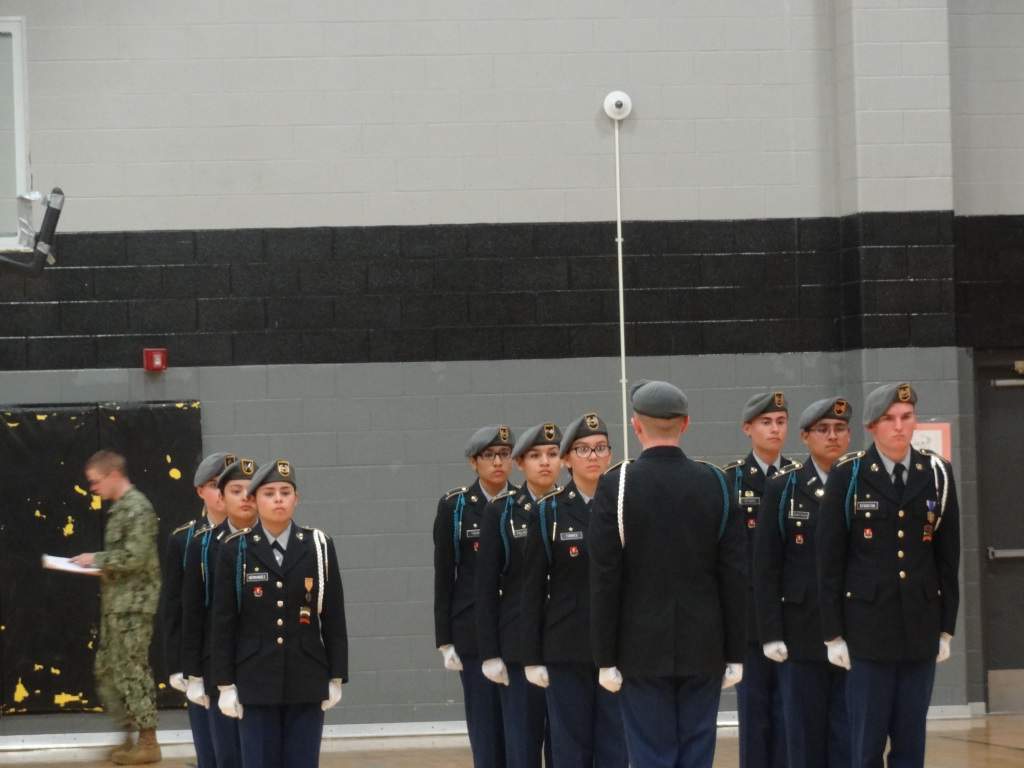UnArmed Drill Competition 1ST PLACE