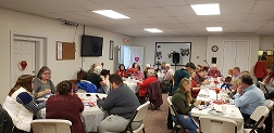 Our Church Family Celebrates Valentines Day
