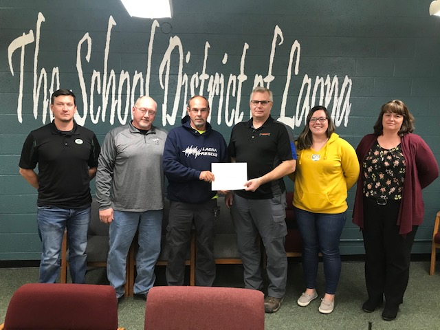 School District of Laona Honors Local Businesses for their Support