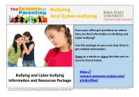 Bullying and Cyber-Bullying