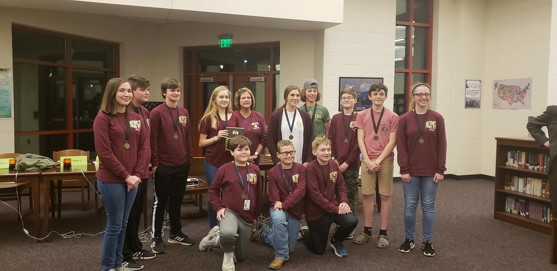 Academic Challenge Team Wins!