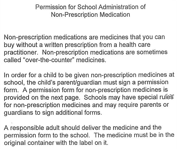 Administration of Medication Forms