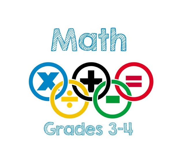 Mon-Fri:  Math Skills and Drills