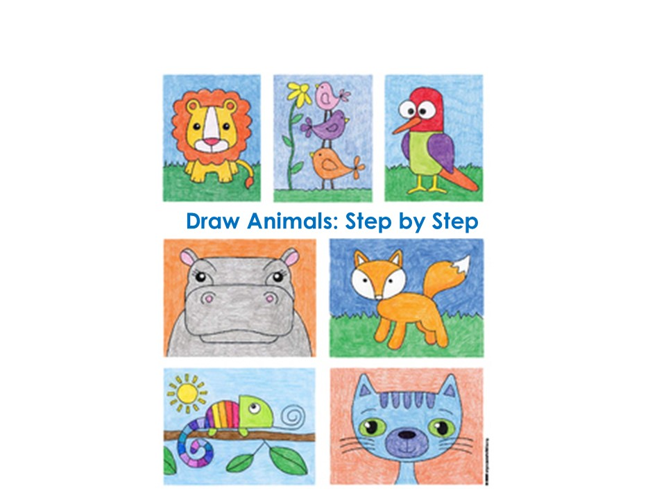 Monday: Learn to Draw Animals