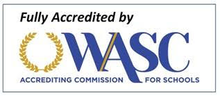 GREEN VALLEY IS A WASC ACCREDITED SCHOOl