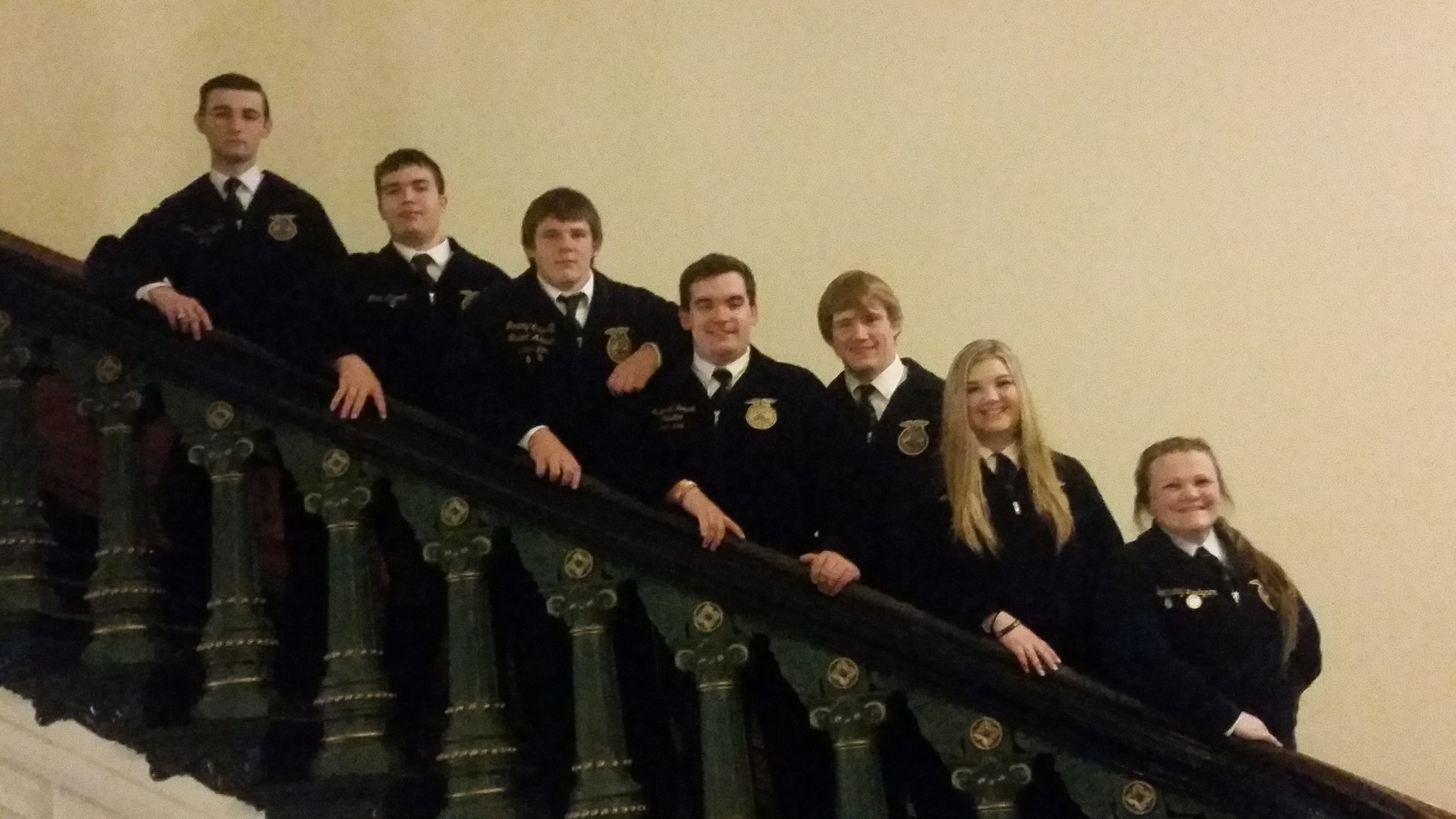 2015-16 THS FFA Officers