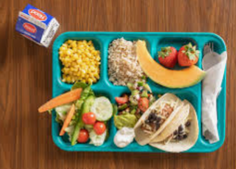 In School meal order form Sept 28th - Oct 2nd 2020