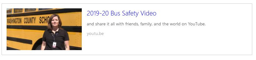 Bus Safety Vid