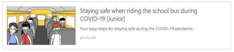 Bus Safety Vids