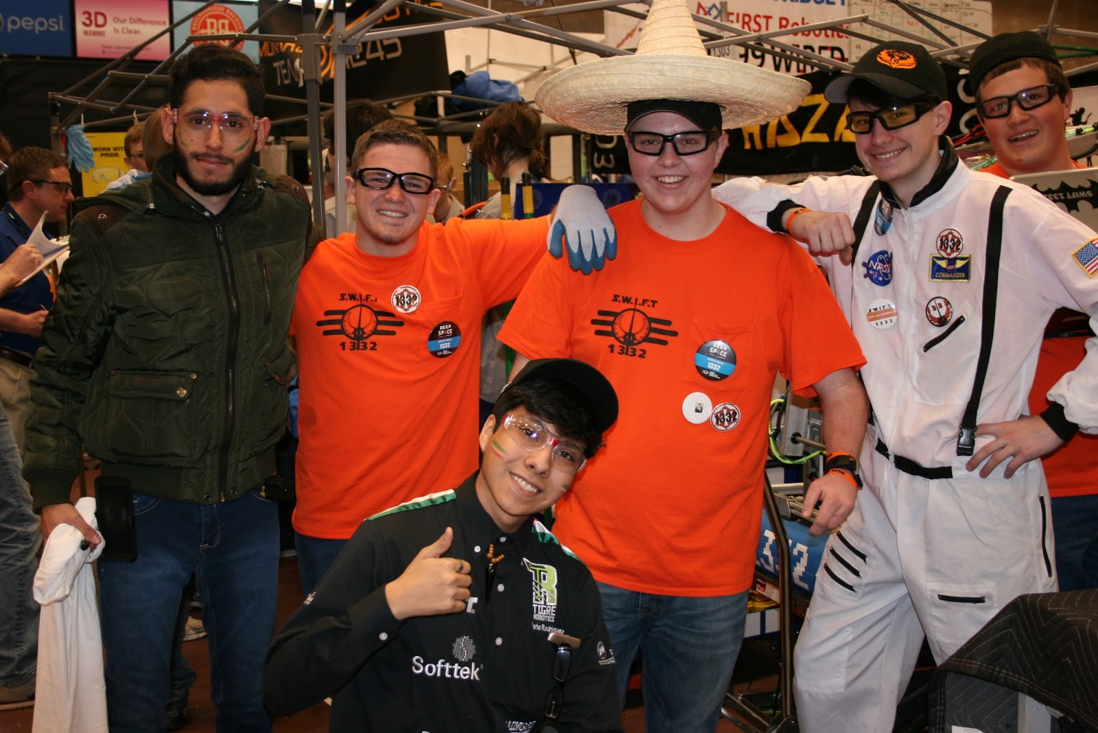 Get to know more about FRC Team 1332