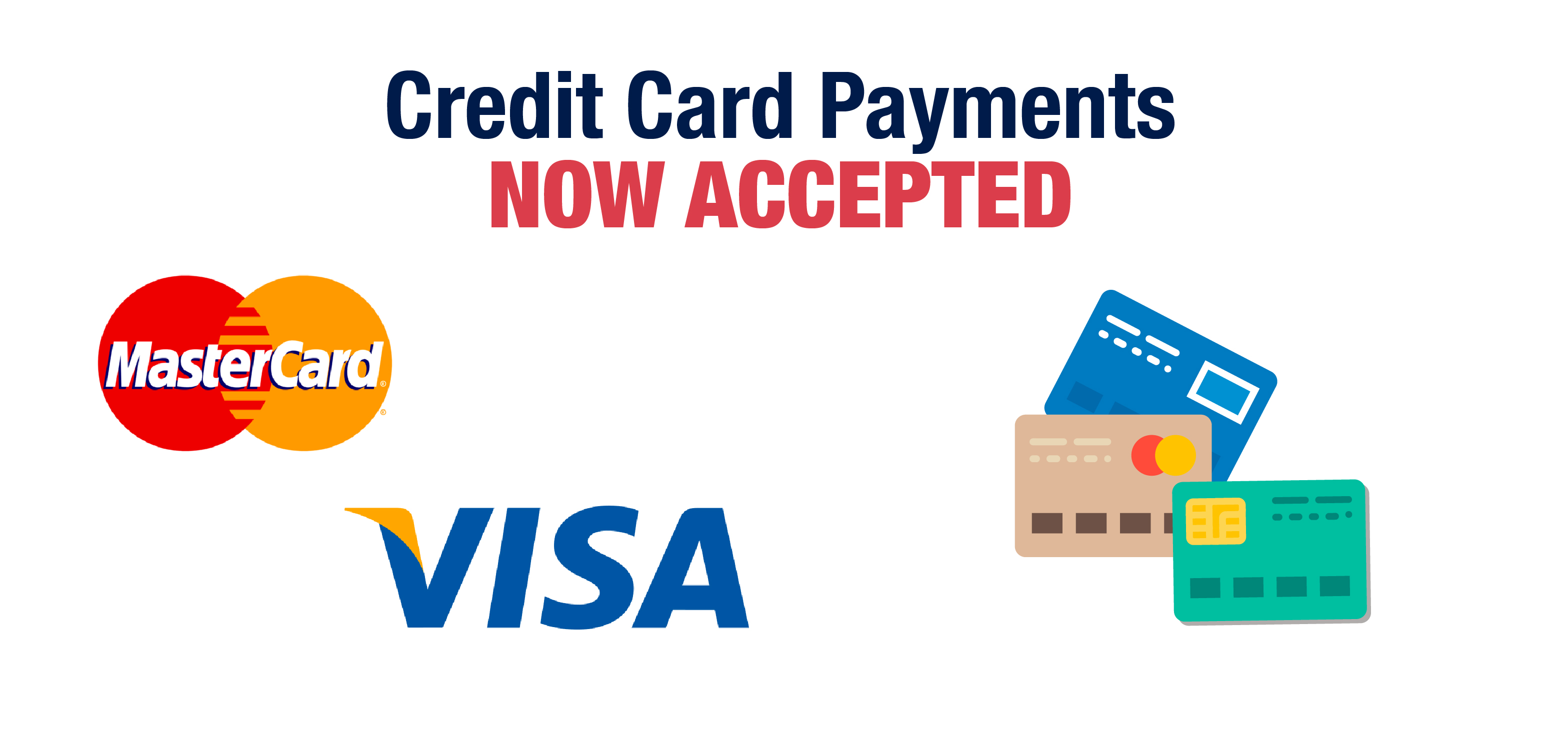 Credit cards payments now accepted through your parent portal in infinite campus.