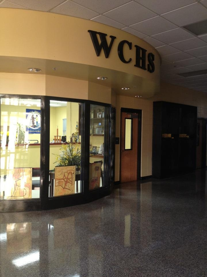 Woodford County High School main office
