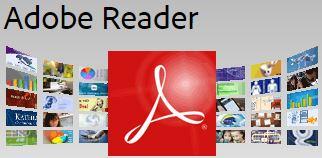 Adobe Reader Required