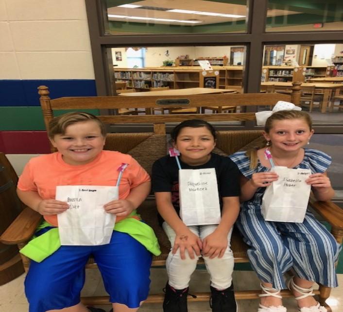 2nd Grade April SOAR Students