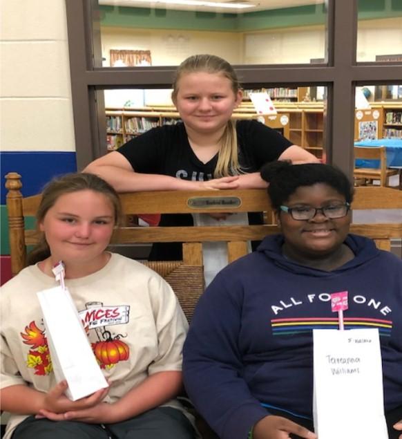 5th Grade April SOAR Students