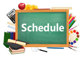 Click to view Rossman School Schedule