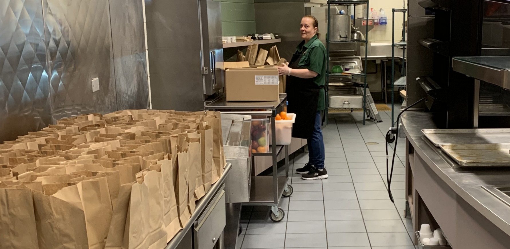 Student Meal Pick-Up Program Heroes!