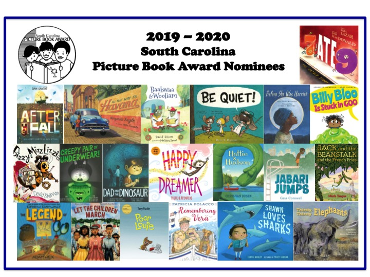 2019 SC Picture Book Award nominees