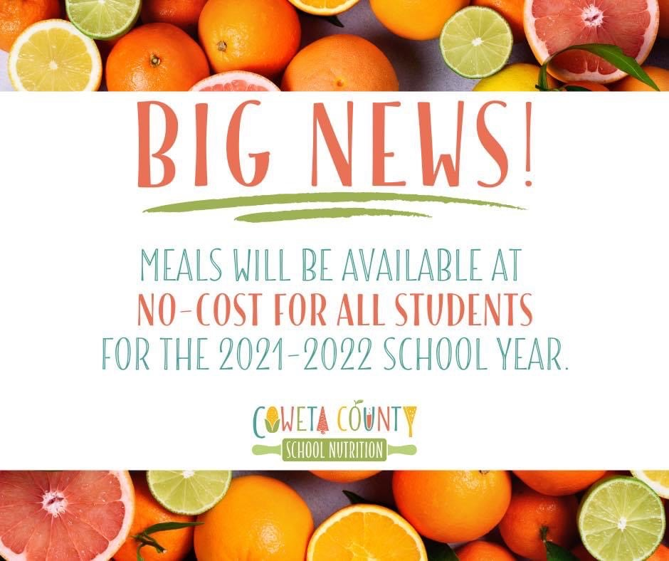 No Cost Meals for Students