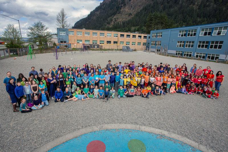 A photo of our Montessori Community